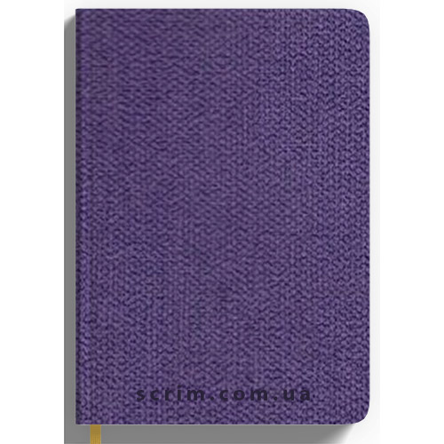 Щоденники датовані Cambee фіолетові з логотипом