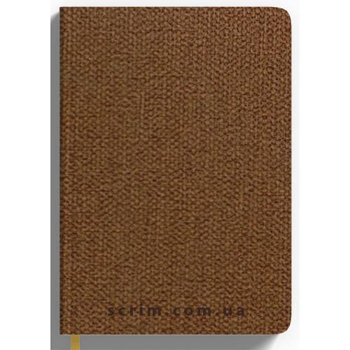 Щоденники датовані Cambee коричневі з логотипом