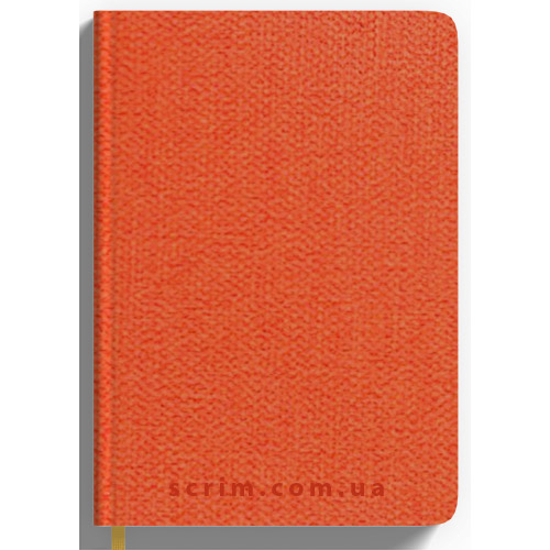 Ежедневники датированные Cambee оранжевые с логотипом