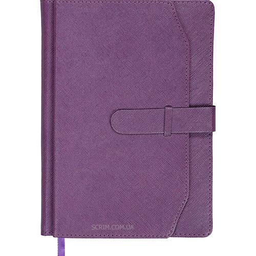 Ежедневники датированные Credit фиолетовые с логотипом