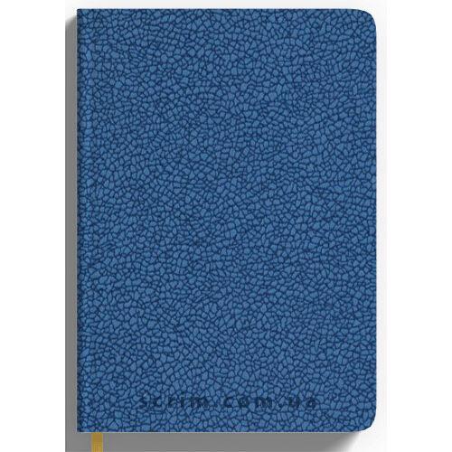 Ежедневники Mirana голубые с логотипом