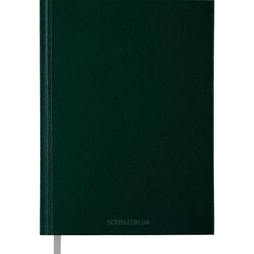 Ежедневники датированные Street зеленые с логотипом