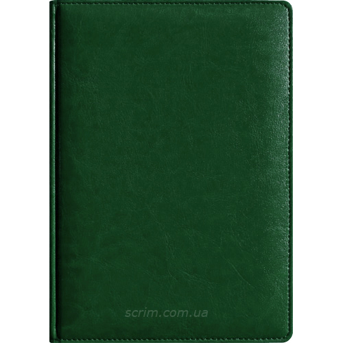 Ежедневники Teofil темно-зеленые под заказ
