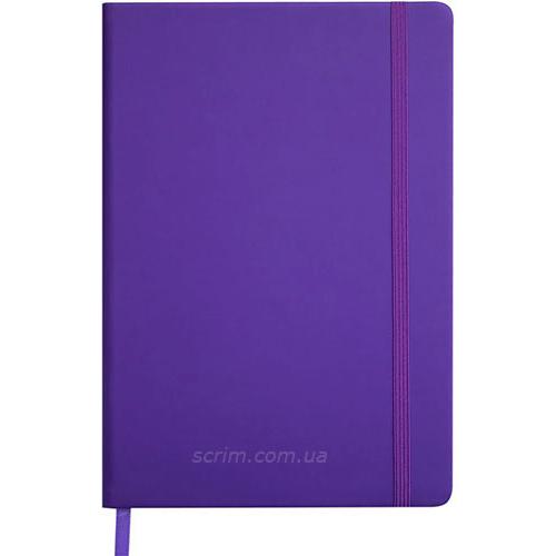 Ежедневники датированные Touch фиолетовые с логотипом