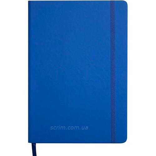 Щоденники датовані Touch сині з логотипом
