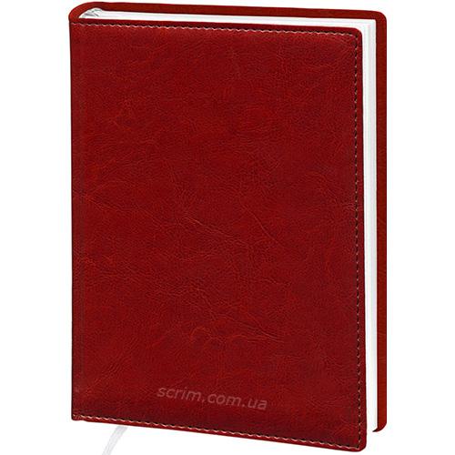 Ежедневники Elis красные с логотипом