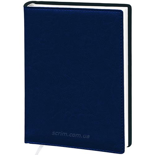 Ежедневники Elis темно-синие с логотипом
