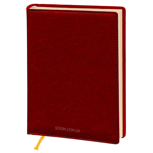 Ежедневники Elissa красные с логотипом