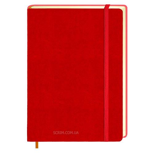 Ежедневники Erica красные с логотипом