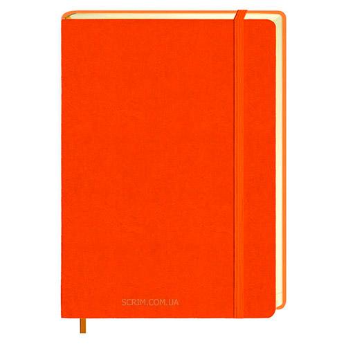 Ежедневники Erica оранжевые с логотипом