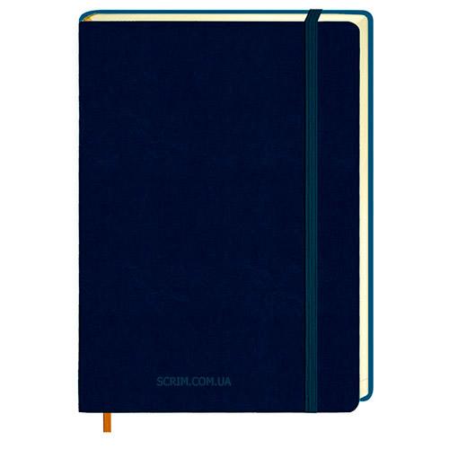Щоденники Erica темно-сині з логотипом