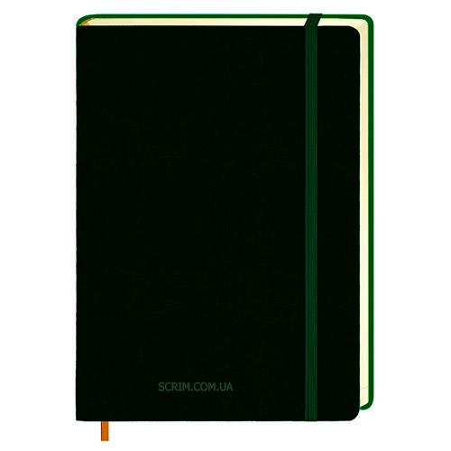 Ежедневники Erica темно-зеленые с логотипом