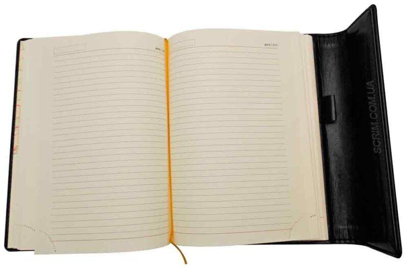 Щоденники Estella чорні з магнітним клапаном 2