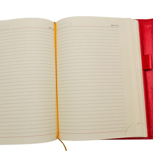 Ежедневники Estella красные с магнитным клапаном 2