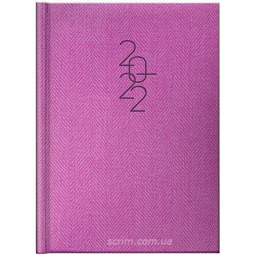 щоденники фіолетові брендові brunnen tweed