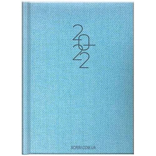 ежедневники голубые брендовые brunnen tweed