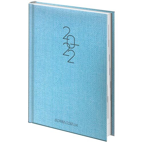 ежедневники голубые брендовые brunnen tweed фото 2