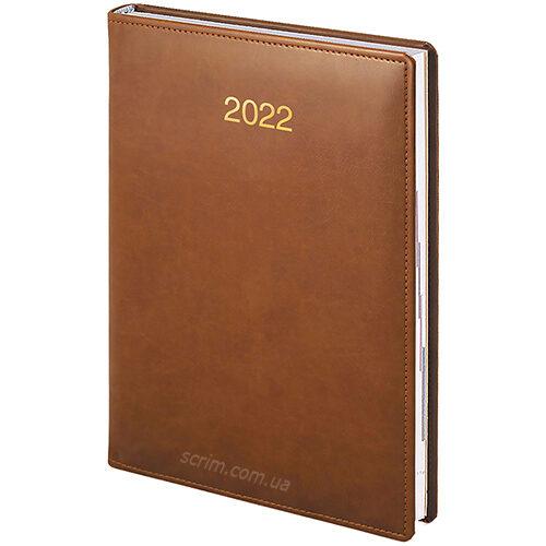 ежедневники коричневые датированные brunnen soft фото 2
