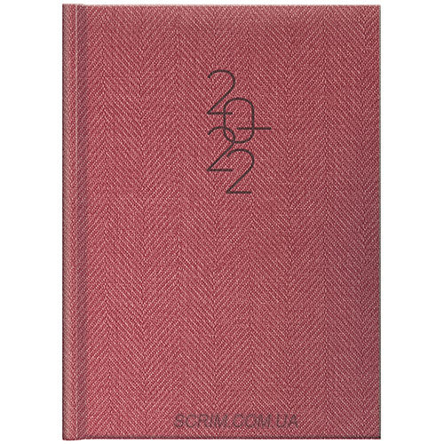 ежедневники красные брендовые brunnen tweed