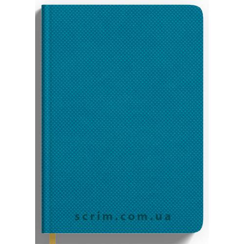 Ежедневники Nadir голубые с логотипом