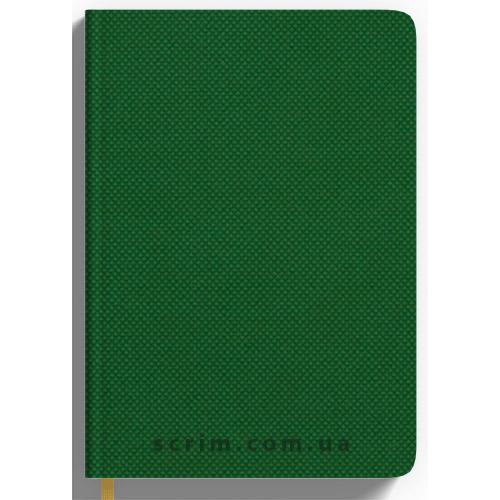 Ежедневники Nadir зеленые с логотипом