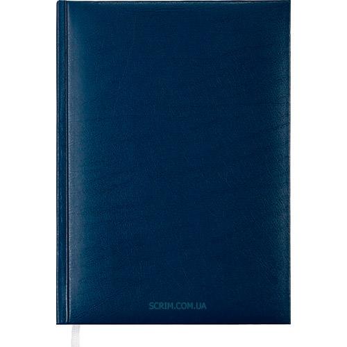 Ежедневники недатированные Expert синие с логотипом