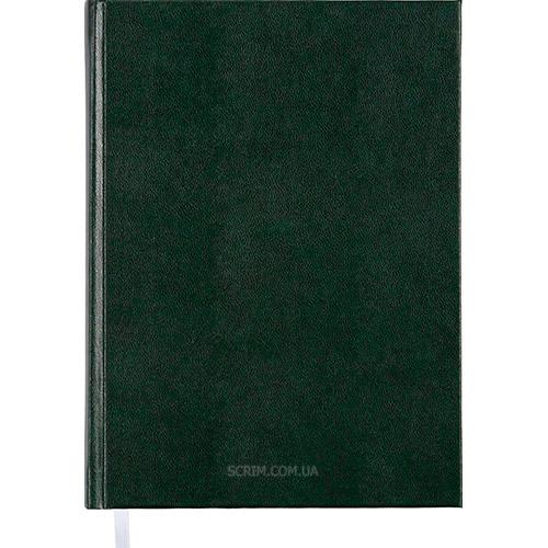 Ежедневники недатированные Expert зеленые с логотипом