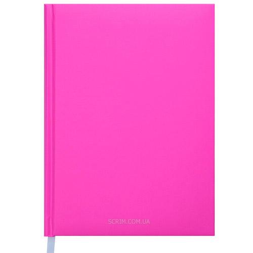 Щоденники недатовані Memphis рожеві з логотипом