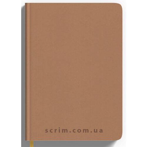 Щоденники Soft-Touch бежеві з логотипом
