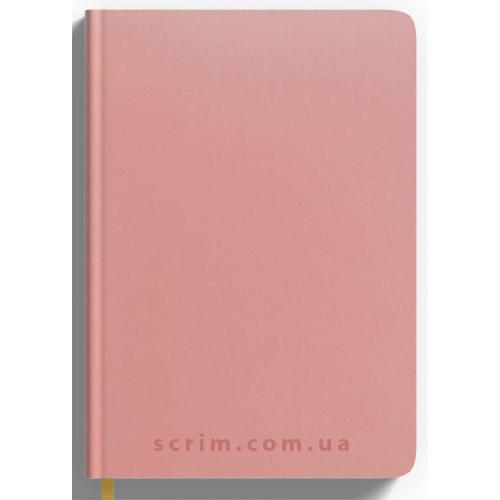 Ежедневники Soft-Touch розовые с логотипом