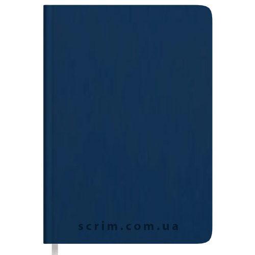 Щоденники Soft-Touch сині з логотипом