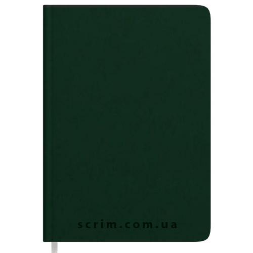 Щоденники Soft-Touch зелені з логотипом