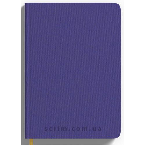 Ежедневники Twill фиолетовые с логотипом