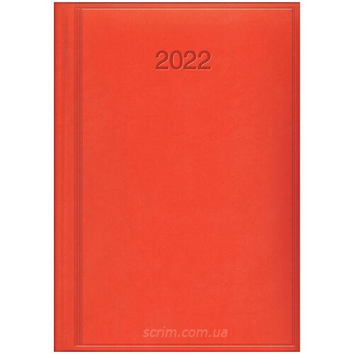ежедневники ярко-красные брендовые brunnen torino
