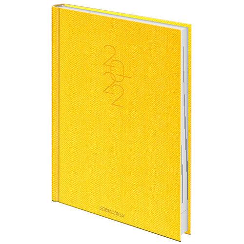 ежедневники желтые брендовые brunnen tweed фото 2