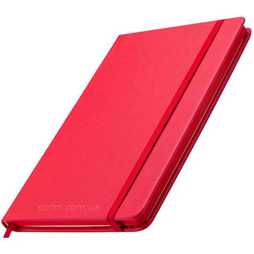 Блокноти червоні Prof з логотипом