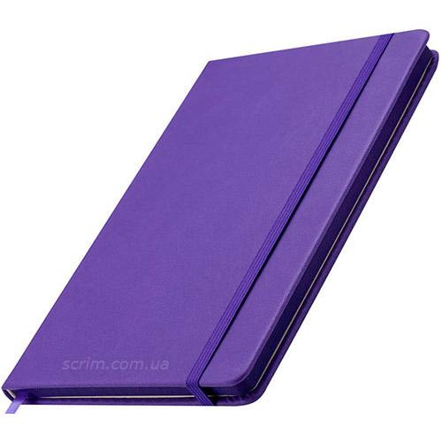 Блокноты фиолетовые Prof с логотипом