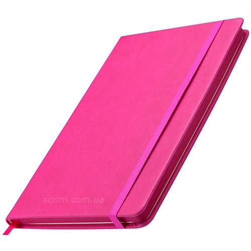 Блокноти рожеві Prof з логотипом