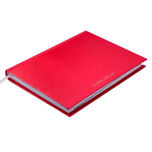 Ежедневники недатированные Perl, цвет красный фото 2