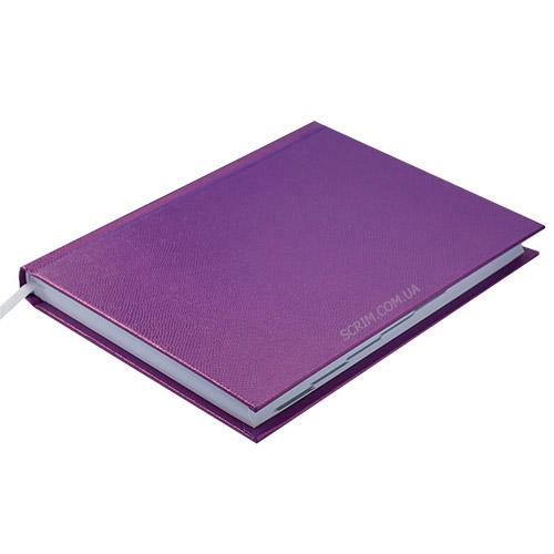 Ежедневники недатированные Perl, цвет фиолетовый фото 2