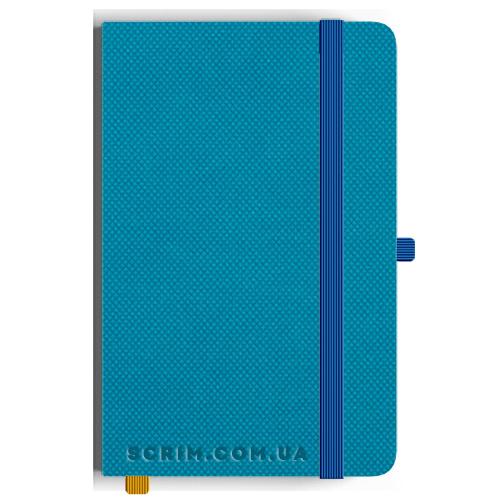 Блокноти A5 Nardo блакитні під замовлення