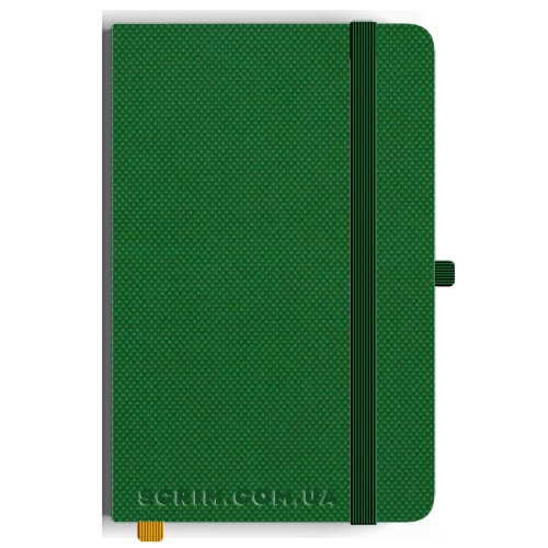 Блокноты A5 Nardo зеленые под заказ