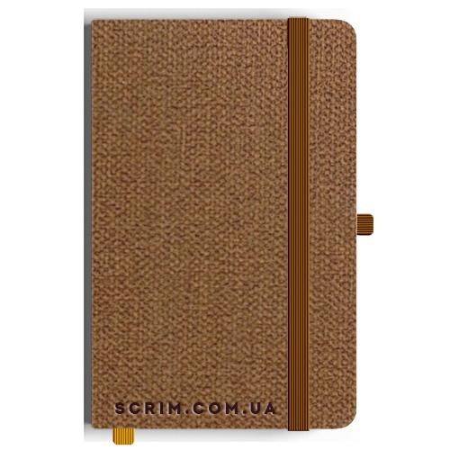 Блокноты A5 Camby коричневые под заказ
