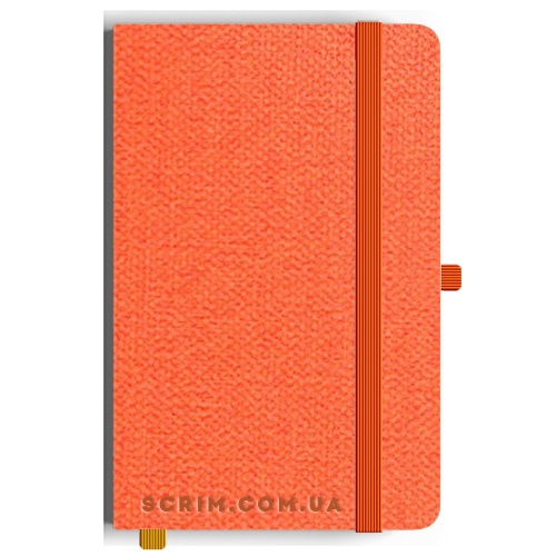 Блокноты A5 Camby оранжевые под заказ