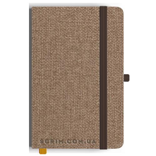 Блокноты A5 Camby светло-коричневые под заказ
