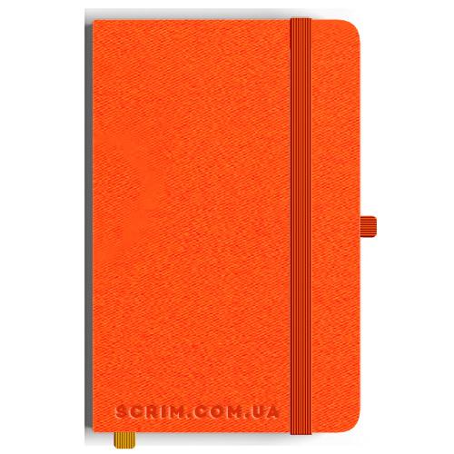 Блокноты A5 Twilly оранжевые под заказ