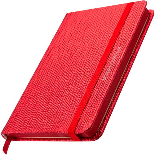Блокноты красные Inga с логотипом