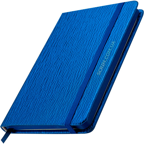 Блокноты синие Inga с логотипом