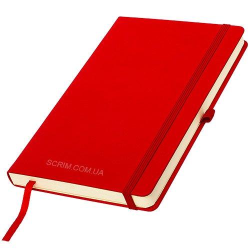 Блокноти червоні Silky з логотипом