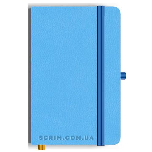 Блокноти Loretta А5 блакитні під замовлення
